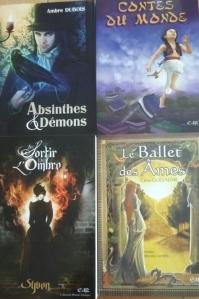 4 livres des éditions du Riez