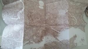 1 carte de la ville de Jadis
